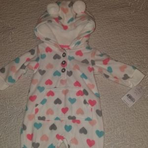 BNWT baby girl sleeper